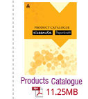Products Catalogue opens in PDF format