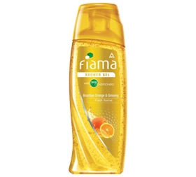 image of Fiama  Brazilian Orange and Ginseng Shower Gel