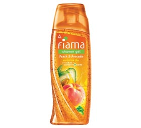 image of Fiama  Peach and Avocado Shower Gel
