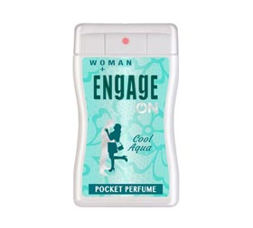 image of Engage Cool Aqua Pocket Perfume