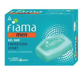 image of Fiama Men Refreshing Pulse Gel Bar
