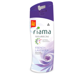 image of Fiama Face and Body Talc, French Lavender