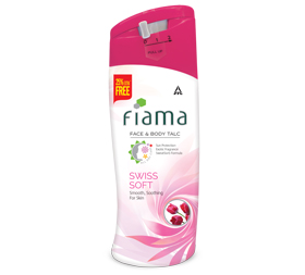 image of Fiama Face and Body Talc, Swiss Soft